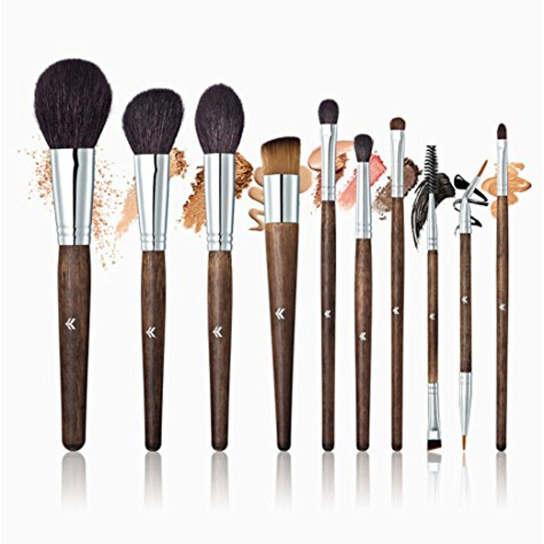 10 Pcs Makeup Brush Set Professional Face Eye Shadow