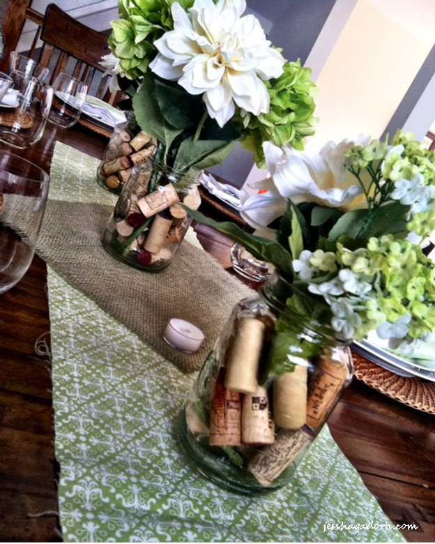 Simple Casual Wedding Ideas: Simple Dinner Party Table