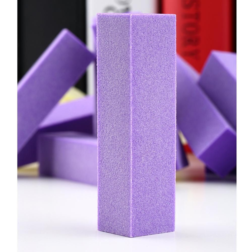 1 set Perfect For Professional Or Home UseBuffing Sanding Block Files Acrylic Pedicure icure Nail Art Tips