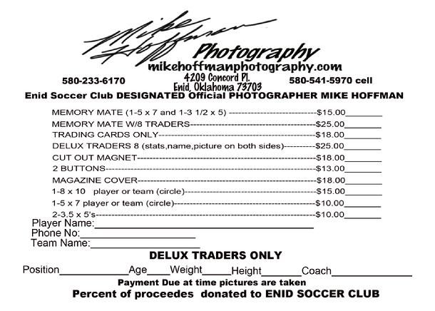 Youth Sports Photography Order Form  Web Hosting Powered By