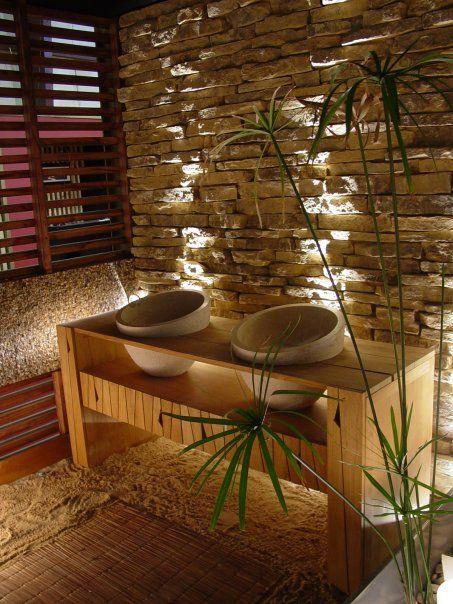 Decoracion en piedra buscar con google decoracion - Piedras para decoracion de interiores ...