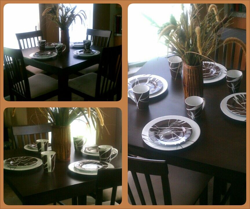 Home Staging Dining Room Table: Staging Of A Dining Room Table!