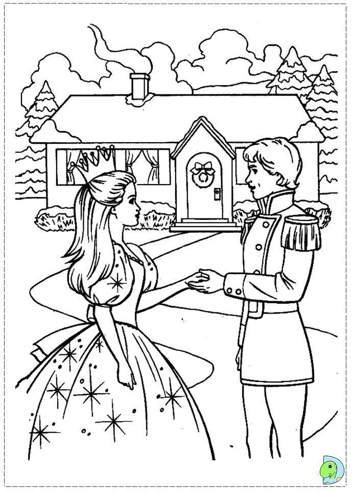 Barbie Nutcracker coloring page | color pictures | Pinterest ...