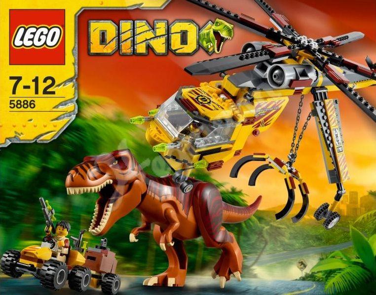Klocki Lego Dino 5886 T Rex Tyranozaurus łowca Moja