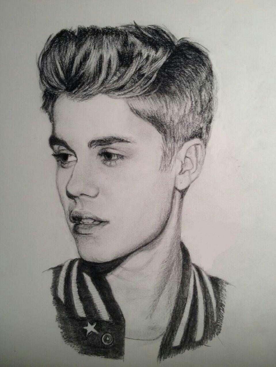 Justin Bieber Jb Mejores Dibujos A Lapiz Artistas Dibujos Simples Tumblr