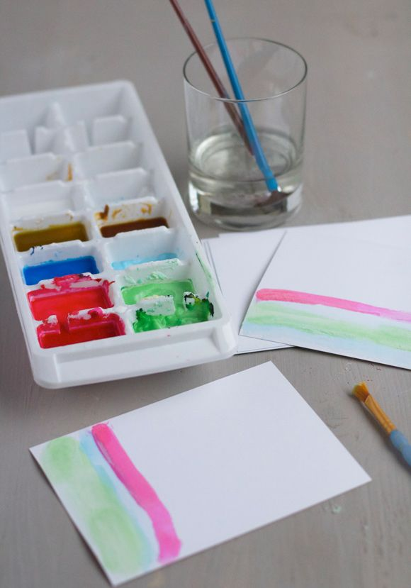 Make It Watercolor Note Cards Note Cards Fun Crafts Cards
