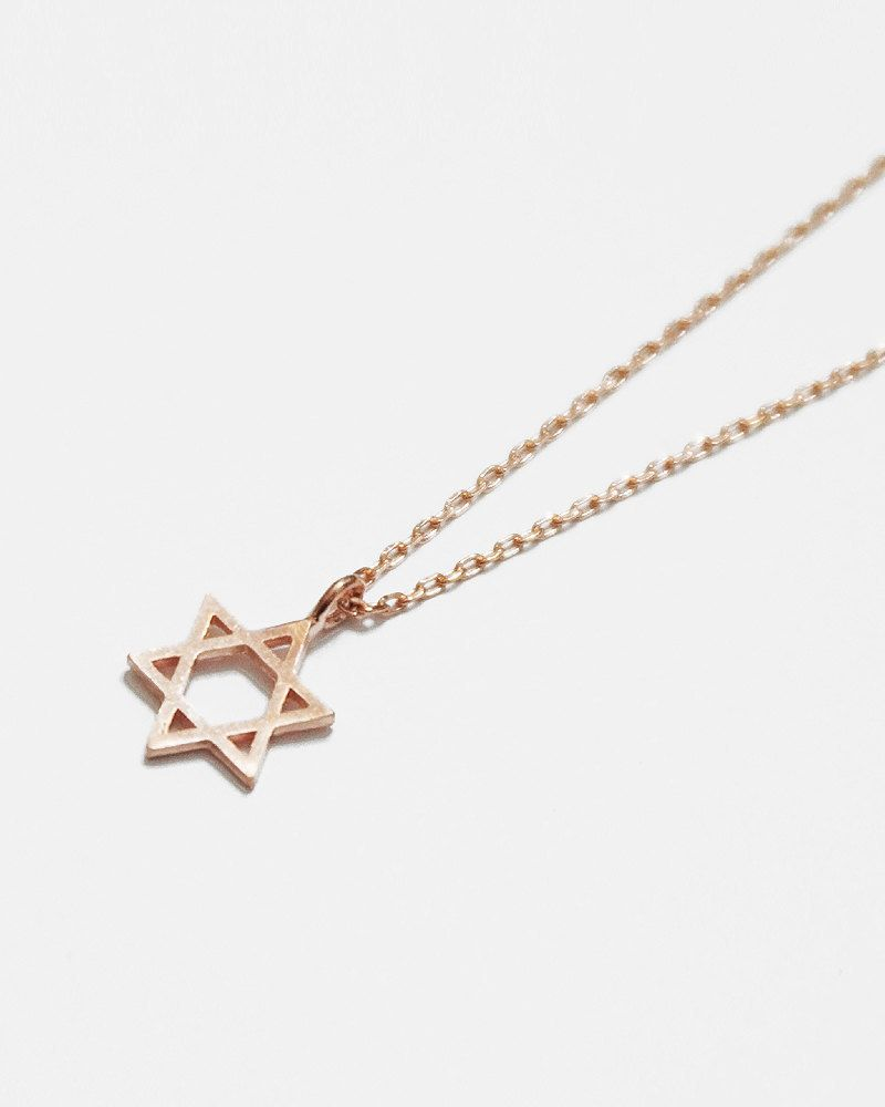 29d2764ba9cda3 Simple Star of David Necklace - leahandkate | Woman's Jewelry | Star ...