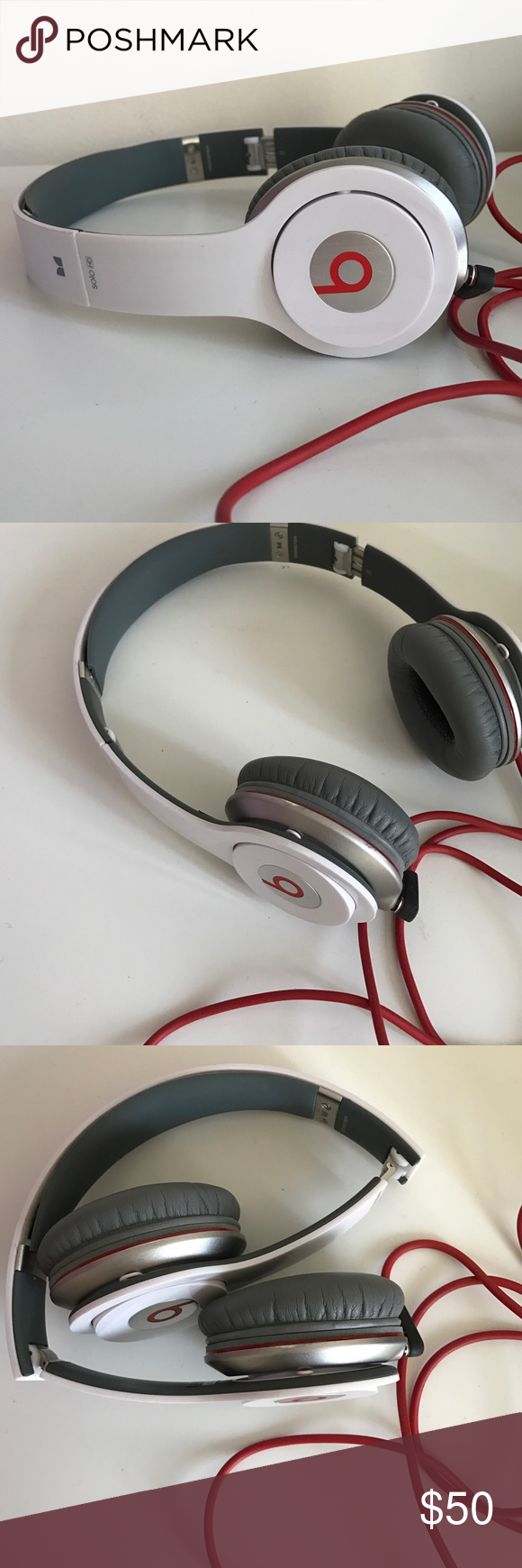 Beats by Dre Solo Wired Headphones These work great, I just received ...