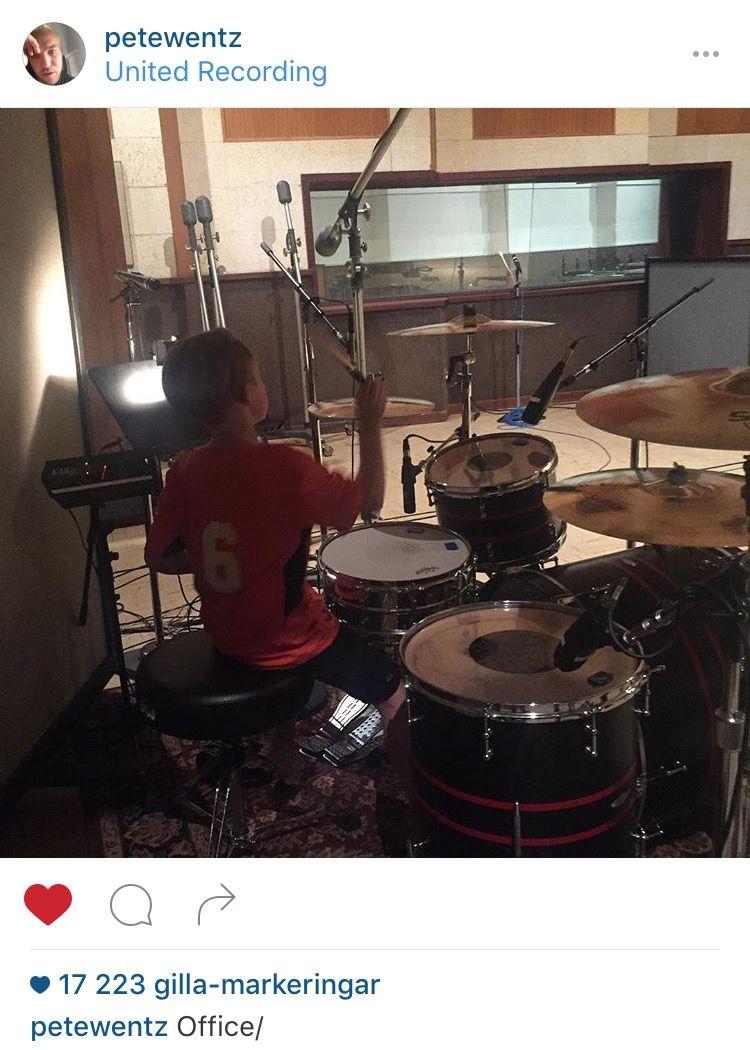 april 12th ✧ pete wentz on instagram