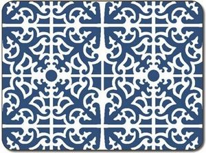 $42     Set of 4 Parterre Blue Placemats J6 489