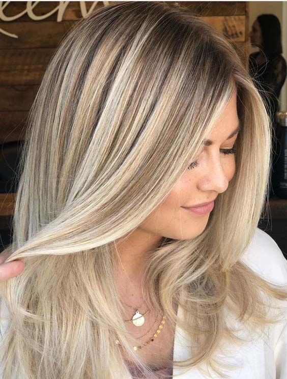 41 Gorgeous Balayage Hair Color Ideas With Blonde ...