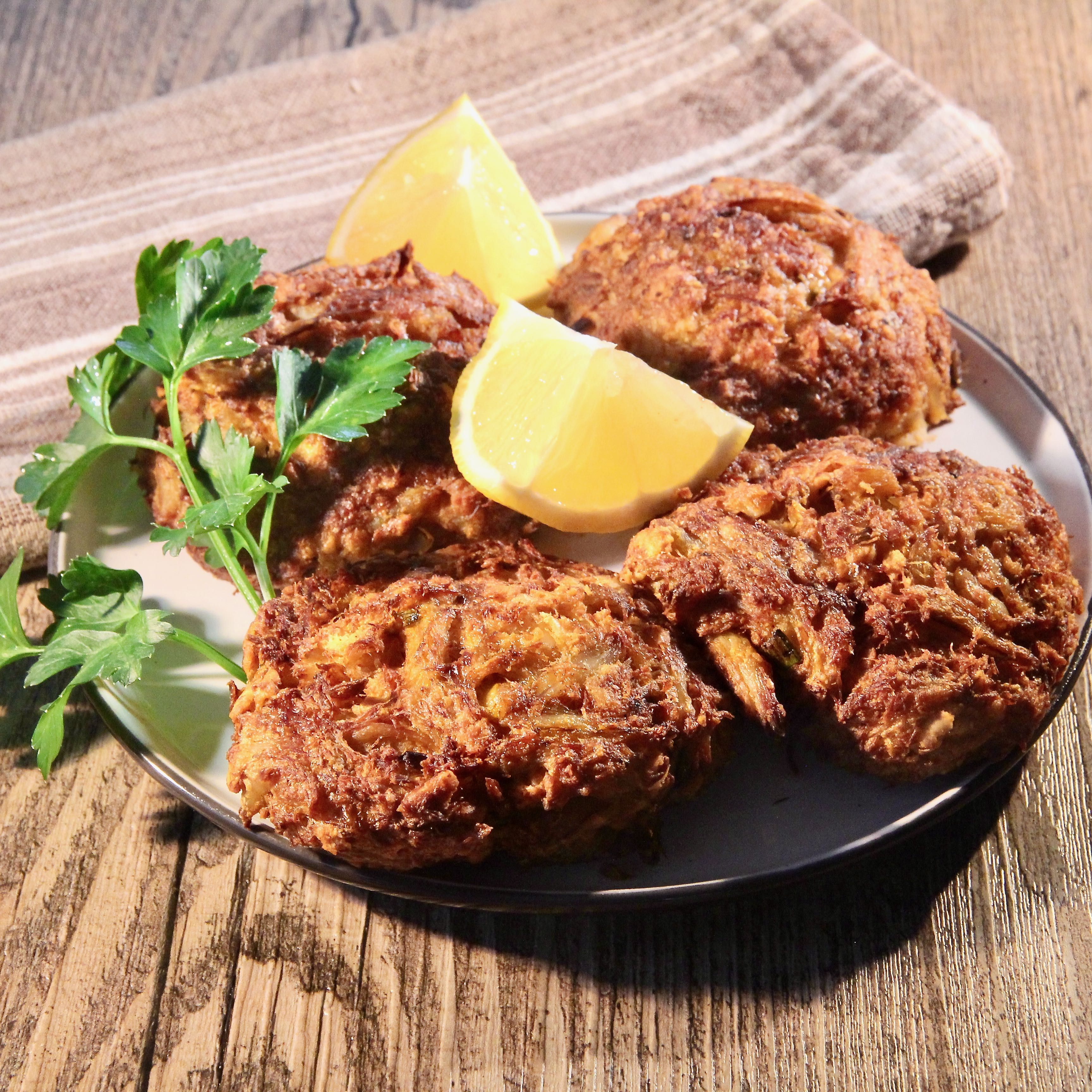 Air fryer crab cakes recipe in 2020 seafood recipes