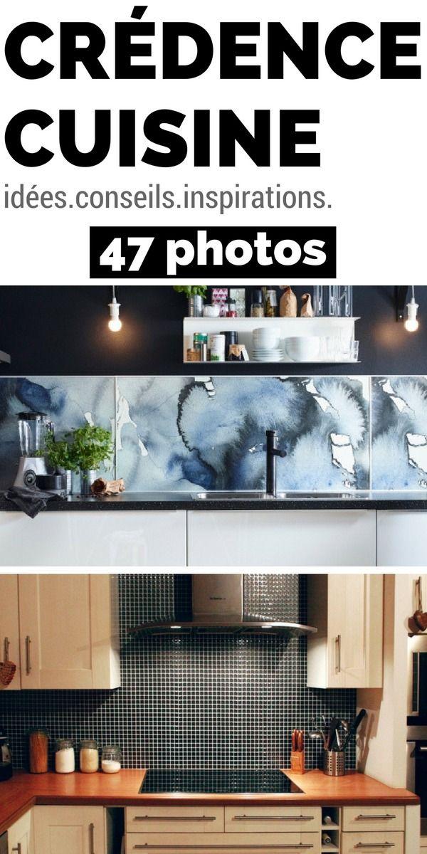 Crédence Cuisine en 47 PHOTOS  Idées, Conseils  Inspirations