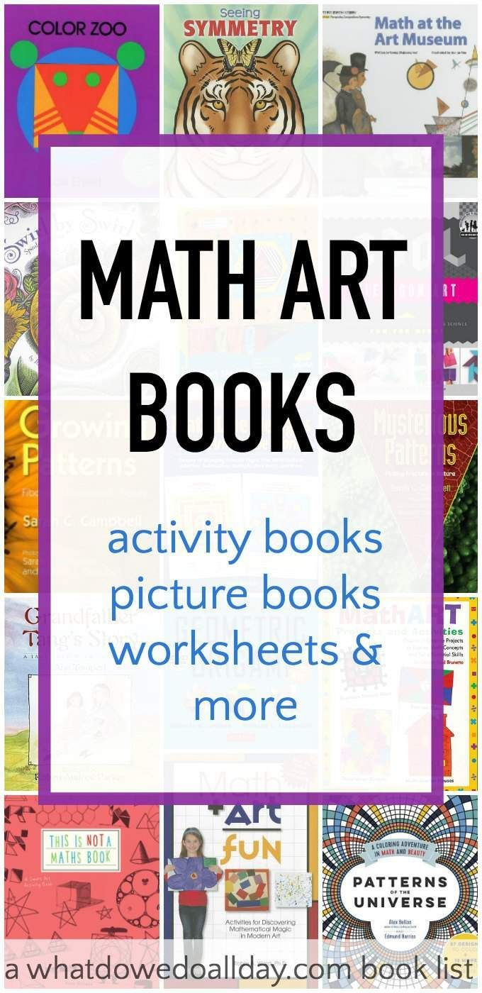 Fantastic fun book to color - Introduce The Beauty Of Math Art To Kids With These Fantastic Books Includes Math Art
