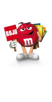 M&M rojo
