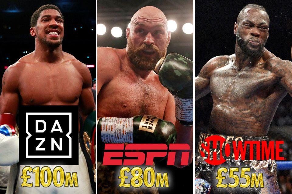 Tyson Fury's £80m US deal KOs hopes of Joshua and Wilder