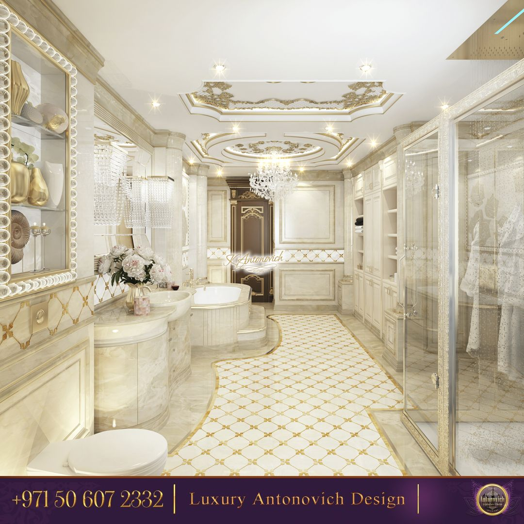 Classic Royal Bathroom Design - Modern Bathroom Design