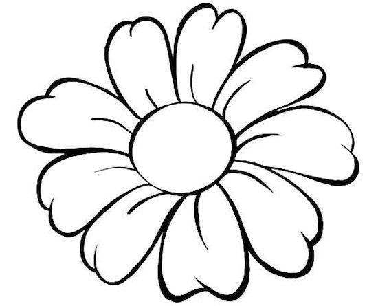 Disegno Fiore Da Colorare Per Bambini Cerca Con Google Disegno Fiori Disegno Di Una Rosa Fiori