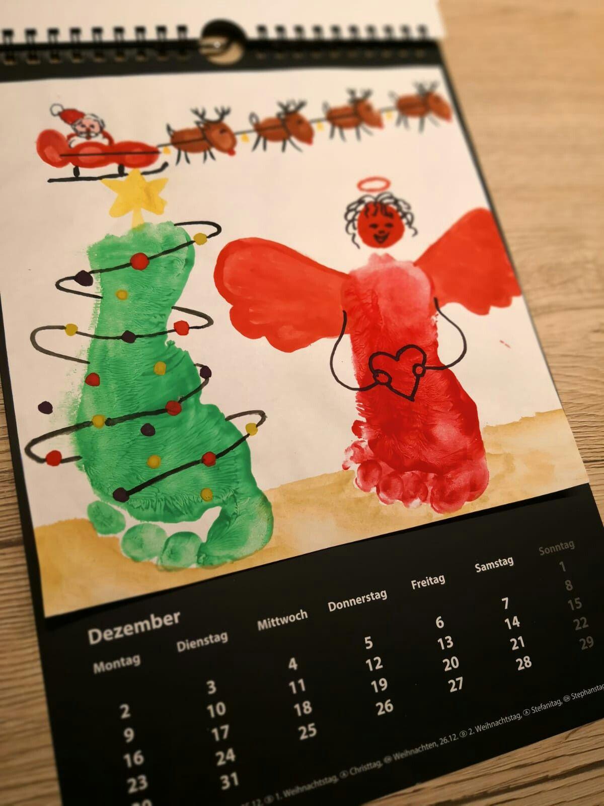 DEZEMBER DIY Jahreskalender