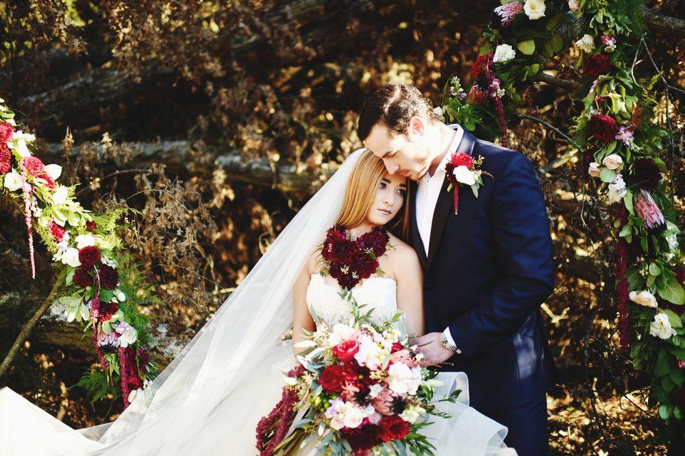 Blog — She Said Yes Bridal Photography by Stephanie Parsley  #ladonnaLanierevents #lazaro #tux #maroon #bridal #veil #flowers #romance #photography #styled
