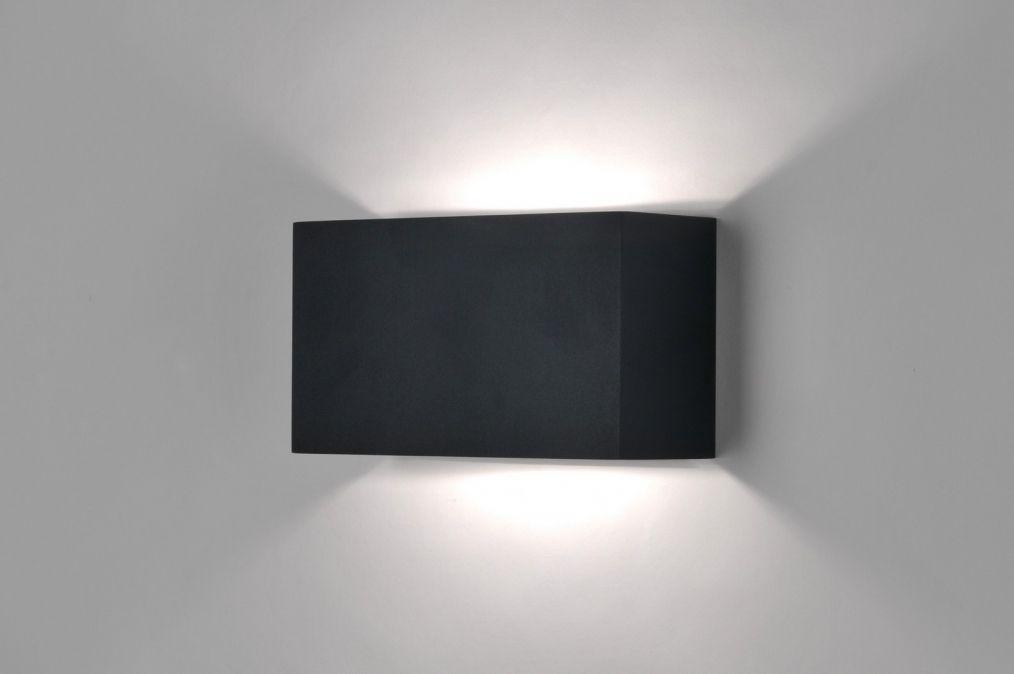 Design Wandlamp Slaapkamer : Euro rietveld licht wandlamp modern zwart mat