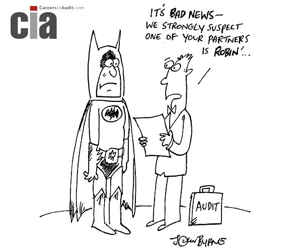 Audit Cartoon  Robin  Audit Cartoons