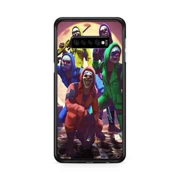 Escuadron La Casa Criminal Free Fire Samsung Galaxy S10 Plus Case Rowlingcase Samsung Galaxy Case Plastic Case