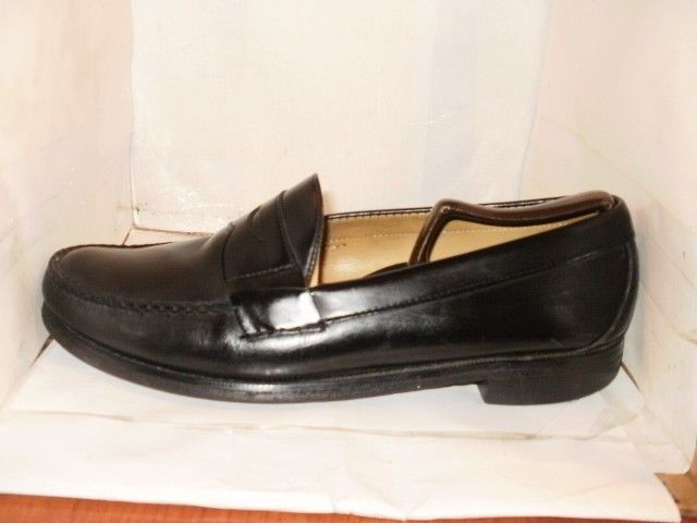 0cb2efa512622 BROOKS BROTHER MENS BLACK CORDOVAN PENNY LOAFERS DRESS SHOES SIZE 10.5 D   BrooksBrothers  LoafersSlipOns  Formal