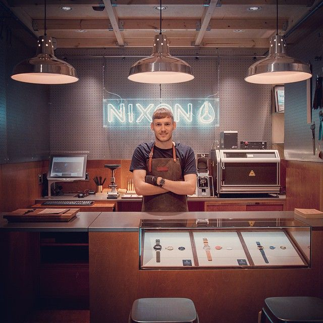Flying the #Nixon flag from London meet Tobias, our - bar manager