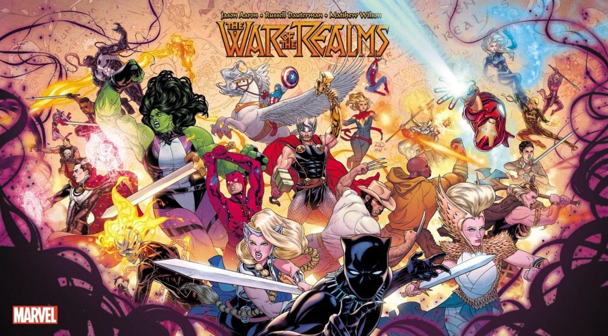War Of The Realms Reading Order Marvel Animation Marvel Comics Marvel