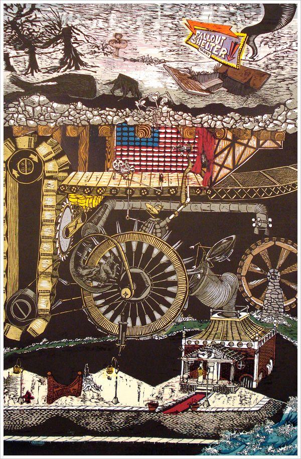 Tugboat Printshop (Artists): Paul Roden