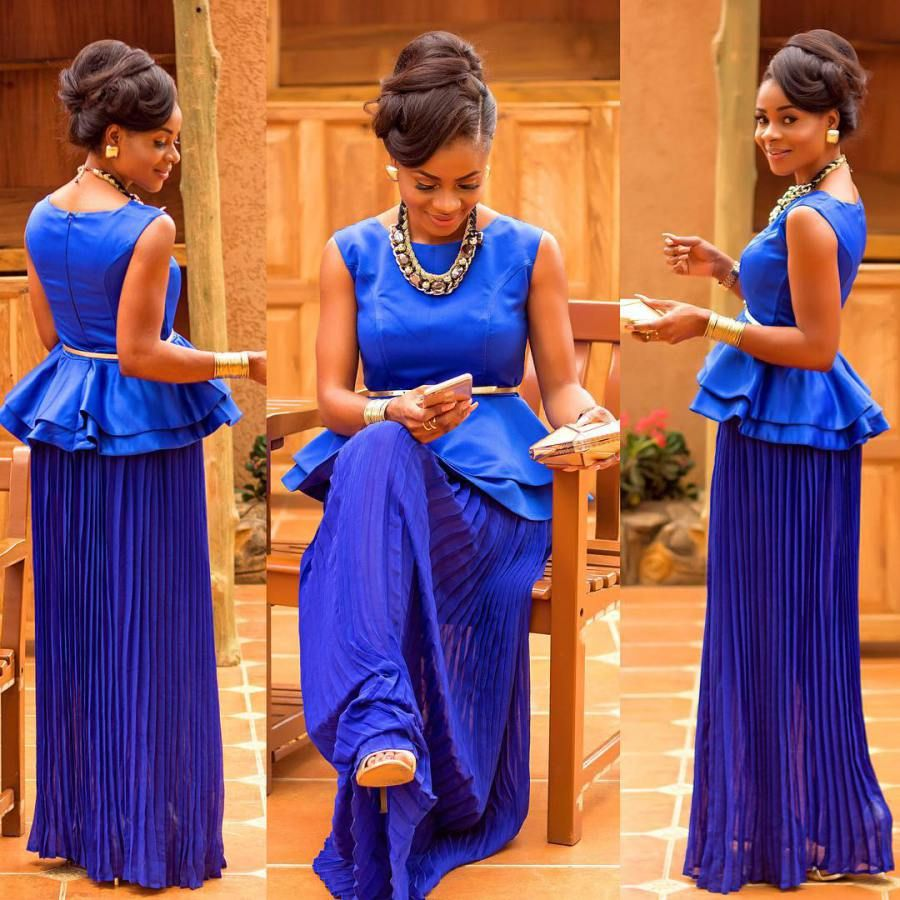 Royal blue dress for wedding guest  Exceptional Wedding Guests Outfits You Would Definitely Love