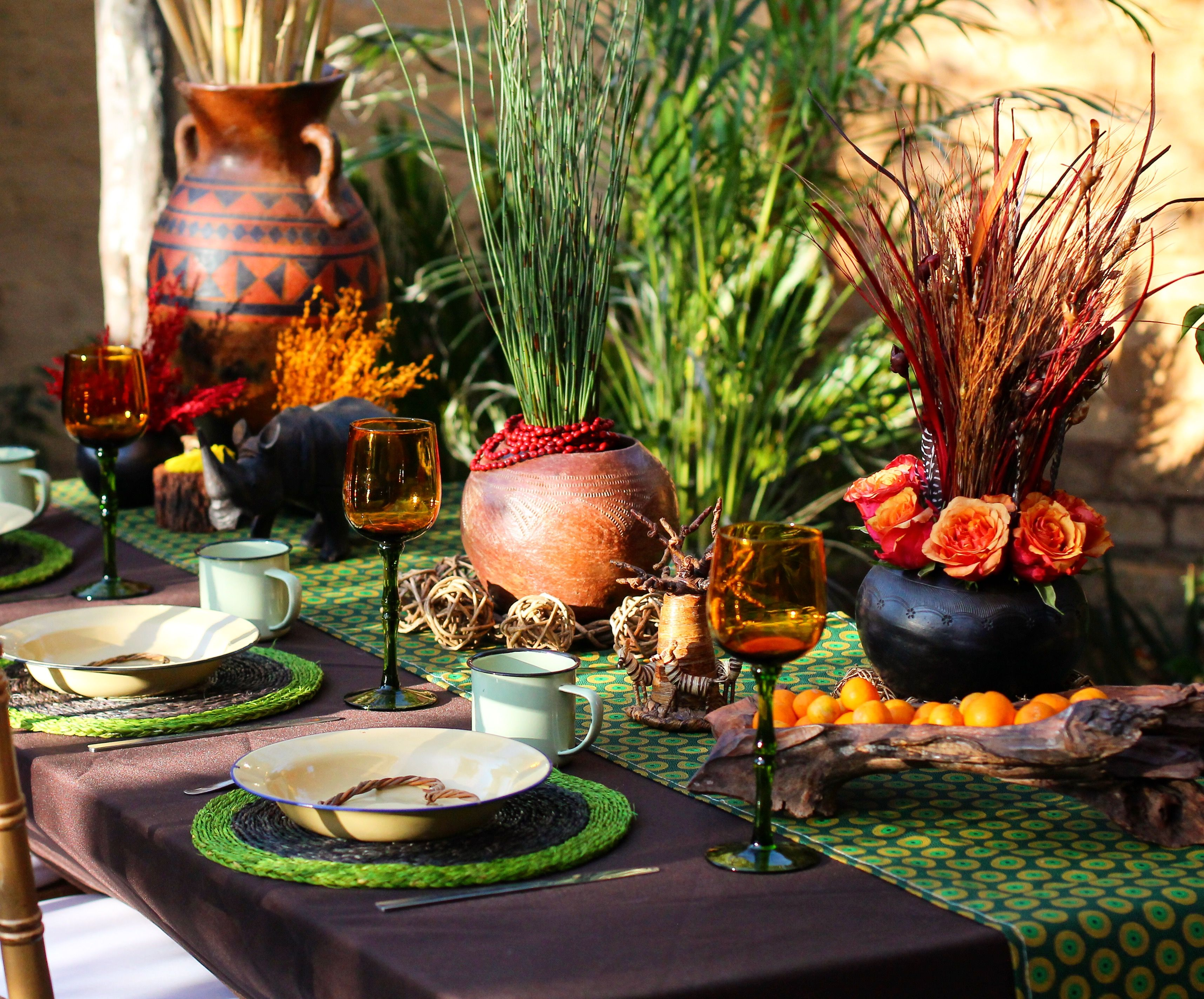Wedding decorations ghana  Traditional african wedding decor Zulu wedding Traditional wedding