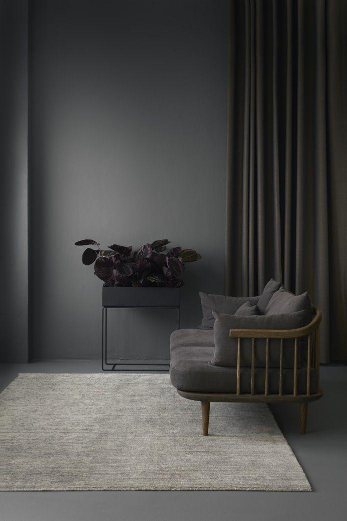 A Chat With Interior Designer And Stylist Laura Trøstrup. Dark Grey CouchesDark  ...