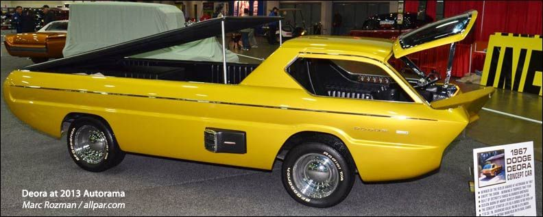 1967 dodge deora concept driving dreams concept cars. Black Bedroom Furniture Sets. Home Design Ideas
