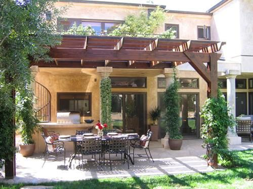 Would Love To Have An Italian Themed Backyard Outdoor Patio Space Inspiring Outdoor Spaces Pergola Patio
