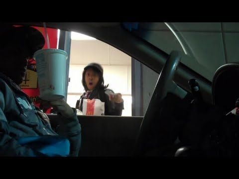 Drive Thru Floating Cup - hilarious!!