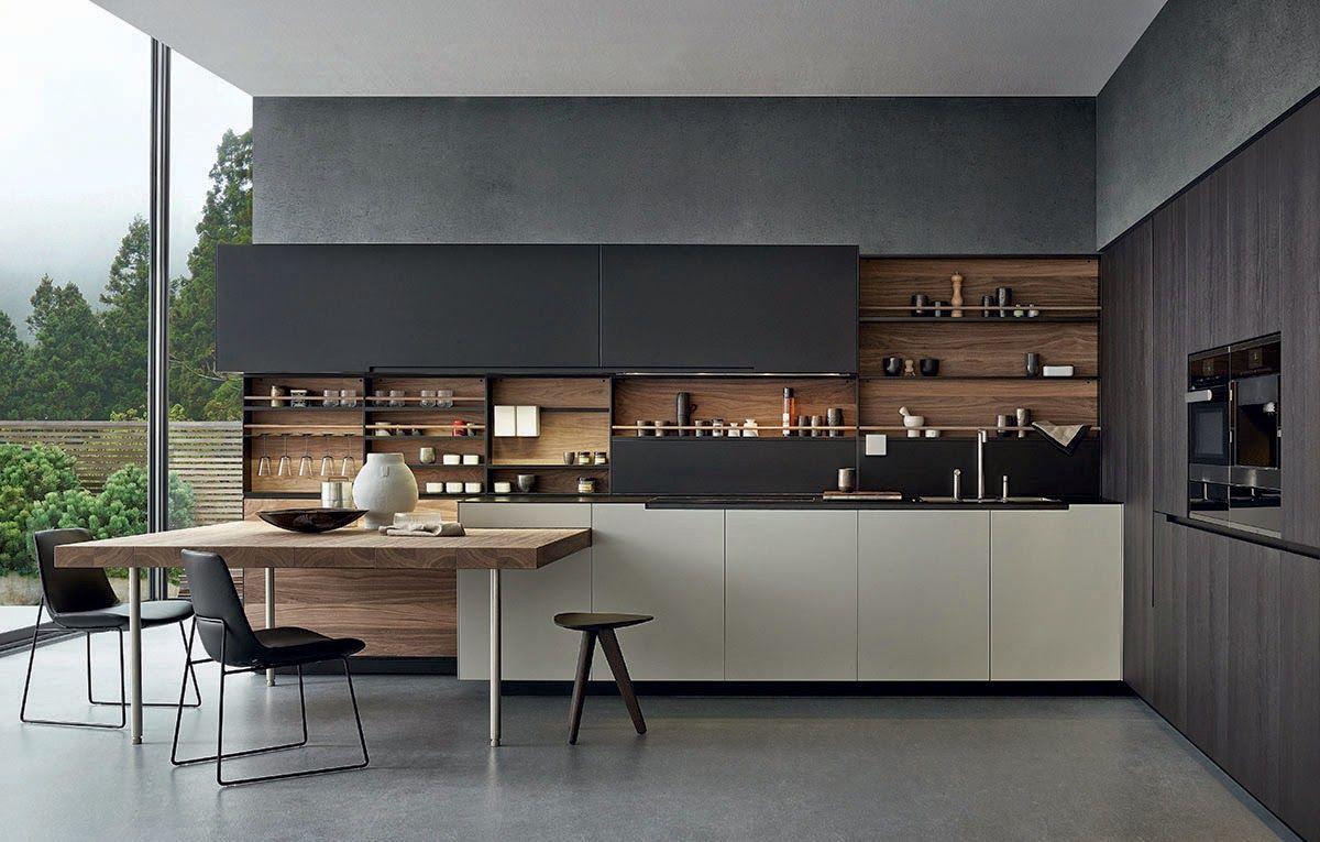 дневник дизайнера: Вневременной дизайн кухни Varenna Poliform