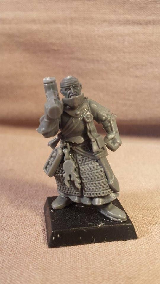 Warrior Priest of Sigmar (kit-bash)