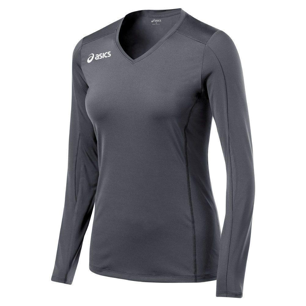 fef07ea8a5b7 Asics Roll Shot Womens Long Sleeve Volleyball Jersey Multi-Bt1730.94 ...