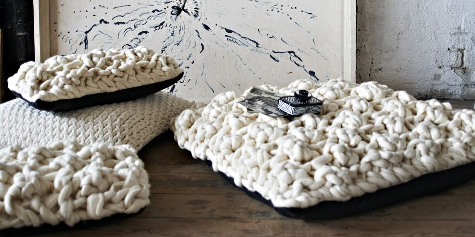 Pillow knit home