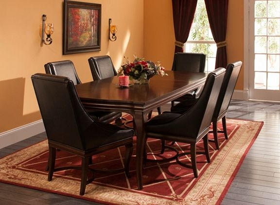 Belanie 7 Pc Dining Set Dining Sets Raymour And Flanigan Furniture House Styles Living Room Sets Furniture