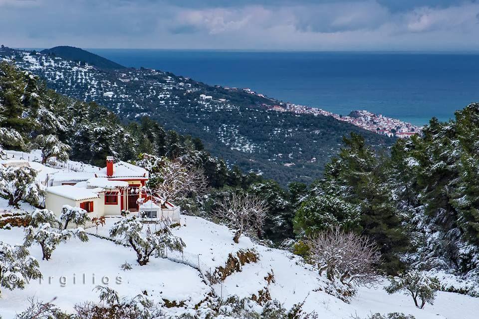 SKOPELOS Winter Snow Greece, Tourism, Winter wonderland