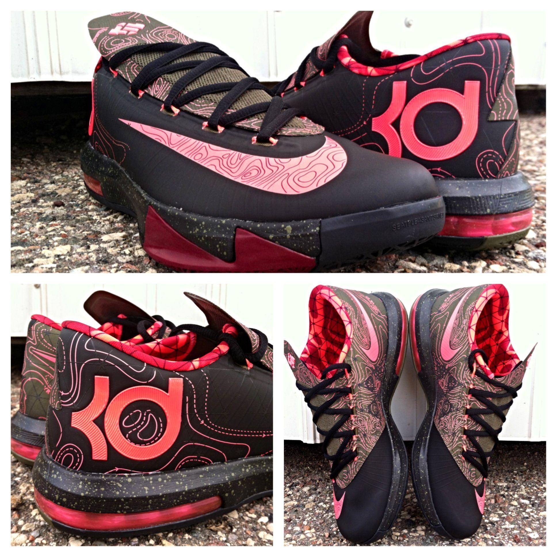 Nike KD VI Meteorology Eastbay Basketball Shoes