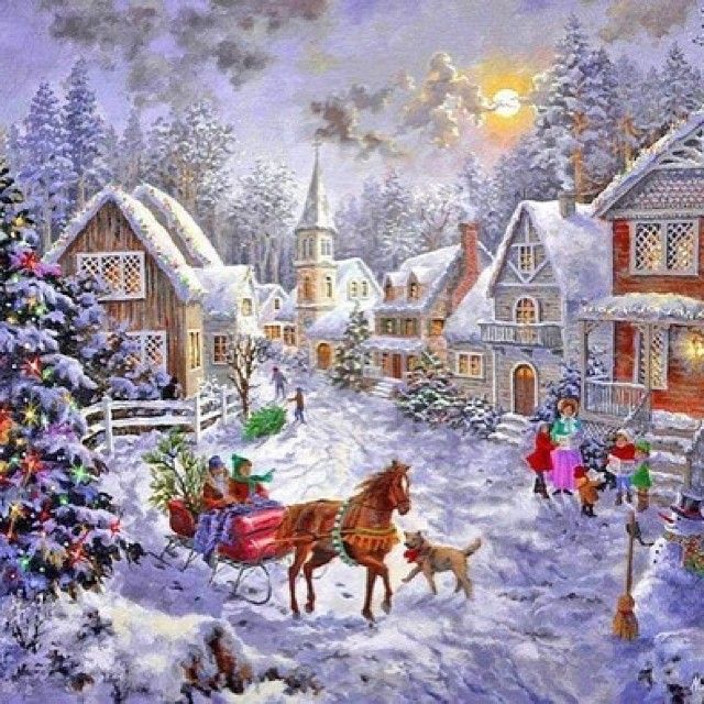 Love this festive type pic Christmas Pinterest Vintage