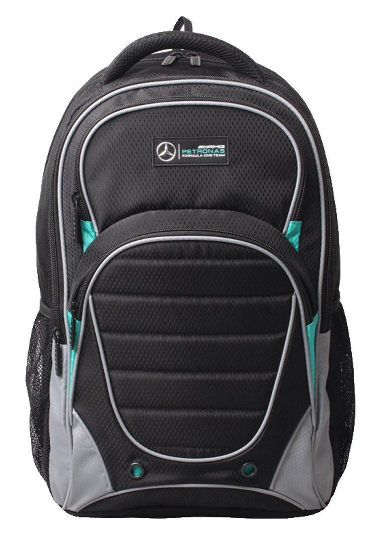 Mercedes Benz AMG Formula 1 Motorsport Petronas Black Backpack  db8c8b08c9406