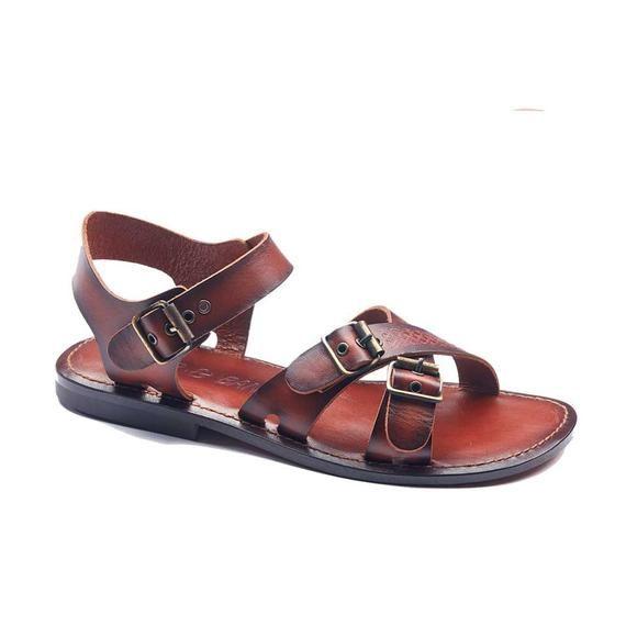 37d839608ef653 Handmade Leather Bodrum Sandals Men