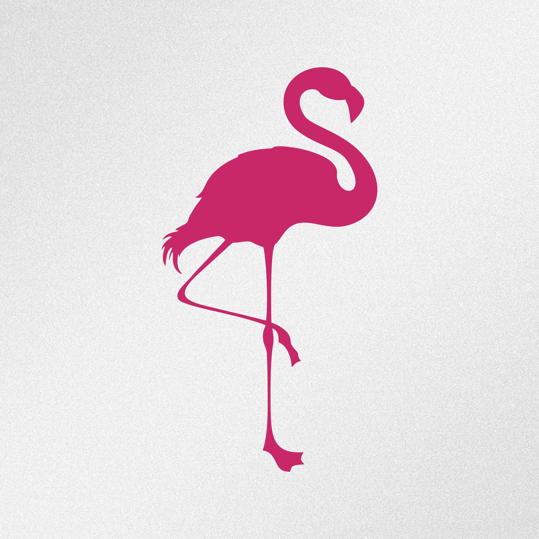 Flamingo Silhouette Car Laptop Wall Motorbike Vinyl Decal Etsy Vinyl Decals Vinyl Decal Stickers Flamingo Decal [ 3000 x 3000 Pixel ]
