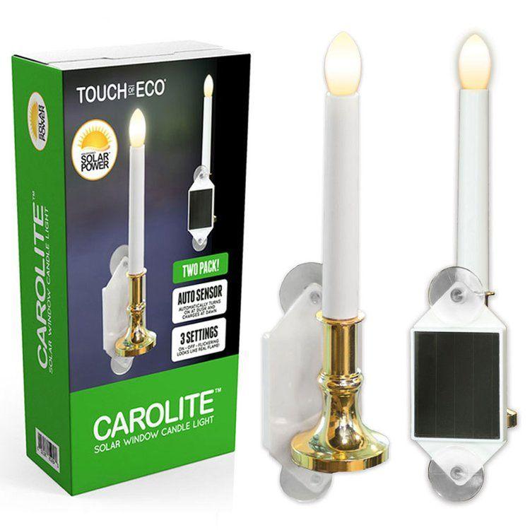 Carolite Holiday Solar Window Candle Window Candles Solar Windows Candles