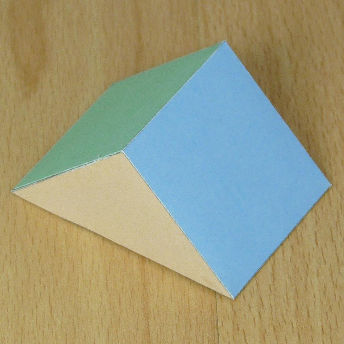 Triangular Prism Net Worksheet